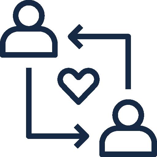 Icon Beziehung